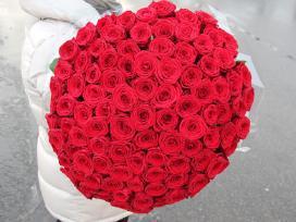 Rožių puokštės, pristatymas Klaipėdoje