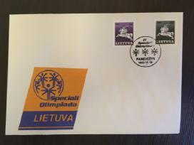 Pirmos dienos vokas Olimpiada Lietuva 1992m