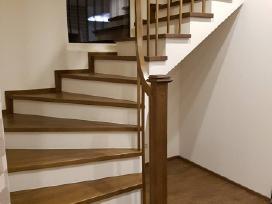 Laiptų gamyba, Mediniai laiptai, Medines pakopos,