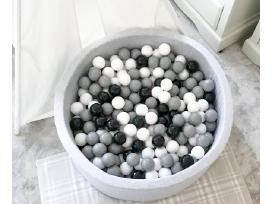 Vaikiški baseinai su kamuoliukais