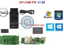 Opel Opcom V1.95 diagnostikos laidas kabelis Usb