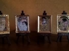 Gustavo Klimto interjero detalės ir indai