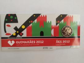 2 eurų monetos kortelėse