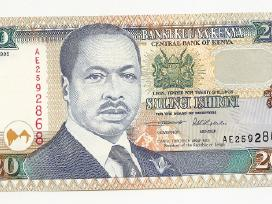 Kenios banknotai