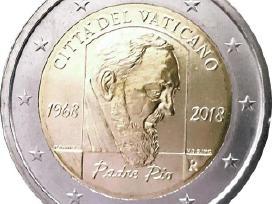 2 eurų Vatikano Unc proginės monetos