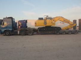 Technikos, negabaritinių krovinių gabenimas
