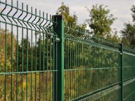Tvoros, vartai, varteliai. Montavimas, tvėrimas