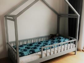 Medinės lovos (ąžuolinės, uosinės, pušinės, kt.) - nuotraukos Nr. 3