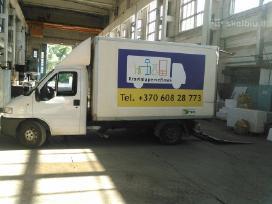 Krovinių pervežimas- perkraustymo paslaugos