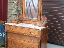 Parduodu antikvarine komoda su veidrodžiu