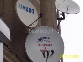 Antenos vietinė ir palydovinė TV,ip TV