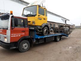 Renault Bortinis Sunkvezimis Su Liftu Dalimis
