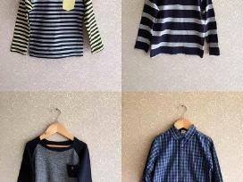 Marškinėliai, megztukas, marškiniai 104cm 4vnt.