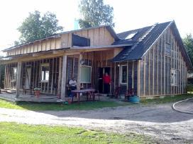 Pastatų šiltinimas ekovata 2,60€/m2.