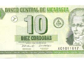 Nikaragva 10 cordobas 2002 P191