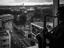 Saksofonistas, Saksofono muzika, Saksofonininkas - nuotraukos Nr. 2
