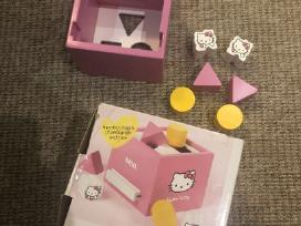 Medinis žaislas - žaidimas Brio + Hello Kitty