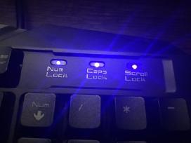 Gaming klaviatūra - nuotraukos Nr. 3