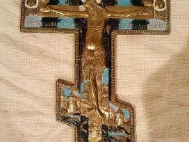 Stačiatikių metalinis kryžius
