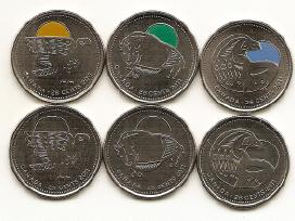 Kanada 25 cents 2011 metu rinkinukas