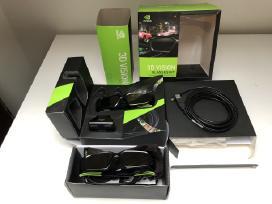 Nvidia 3D Vision komplektas su 2 akiniais