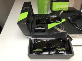 Nvidia 3D Vision komplektas su 2 akiniais - nuotraukos Nr. 2