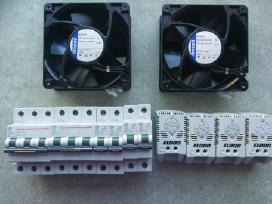 Automatai ventiliatoriai termostatai