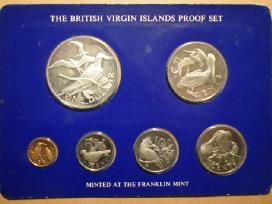 1977 British Virgin Islands Proof Set(6),5935