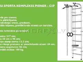 Švediškos sienelės Pioner-c1p green-yellow - nuotraukos Nr. 2