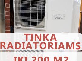 Šilumos Siurblys Atlantic Fujitsu 12 kw (+60 C)