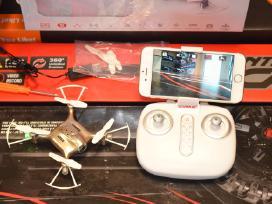 Syma X21w WiFi dronas su tiesiogine transliacija