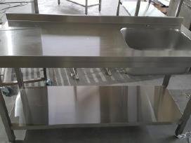 Parduodu nerūdijančio plieno baldus
