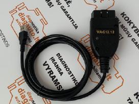 Vag 12.12 Vcds hex+can prof. diagnostikos įranga