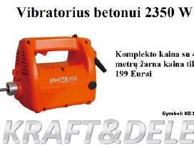 Giluminis betono vibratorius Kraft 55 Eur - nuotraukos Nr. 4