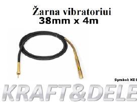 Giluminis betono vibratorius Kraft 55 Eur - nuotraukos Nr. 5