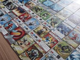 Superinės Lego Ninjago kortos 50 vnt