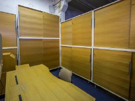 Biuro spintelės su žaliuzėm Švediški biuro baldai - nuotraukos Nr. 13