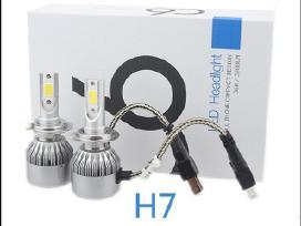 H7 led lemputės Audi Bmw Volvo Naujos
