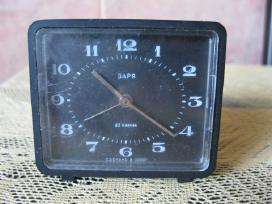 Laikrodis - Zadintuvas Zaria Mechaninis .zr. foto.