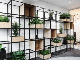 Biuro lentynos ir pertvaros Grid