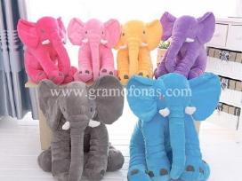 Naujiena! Pliušiniai drambliai ir drambliukai
