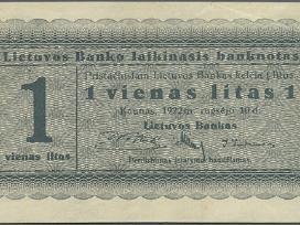 Perku banknotus (galima ir prasto stovio)