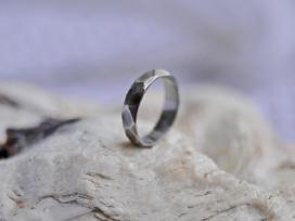Plieninis vyriškas žiedas (20.2 mm x 4 mm)