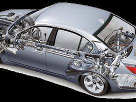 Automobilių ir mikroautobusų vaziuoklės remontas.