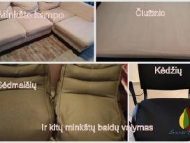 Minkštų baldų, sofos, čiužinio valymas. - nuotraukos Nr. 3