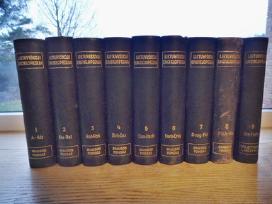 Lietuviškoji Enciklopedija. 1-9 tomai. 1931/41m.