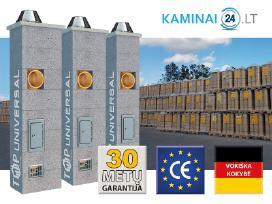 Keramikiniai Kaminai Akcija 60-70% pigiau
