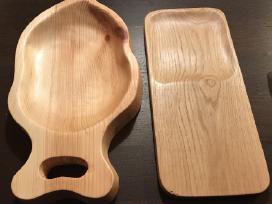 Medinės pjaustymo lentelės ir mediniai padėklai - nuotraukos Nr. 2