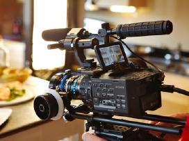 Sony Nex Fs100 Profesionalią Filmavimo Įrangą