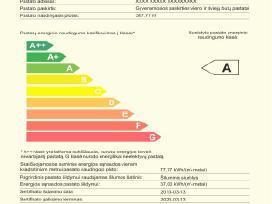 Energinio naudingumo sertifikatas Tel. 8 686 53020